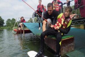 Waterskiën en wakeboarden bij Avonturen Achterhoek