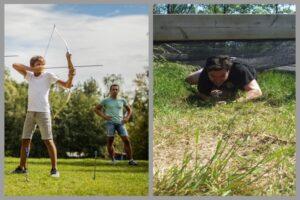 Activiteiten achterhoek vlotbouwen en survival